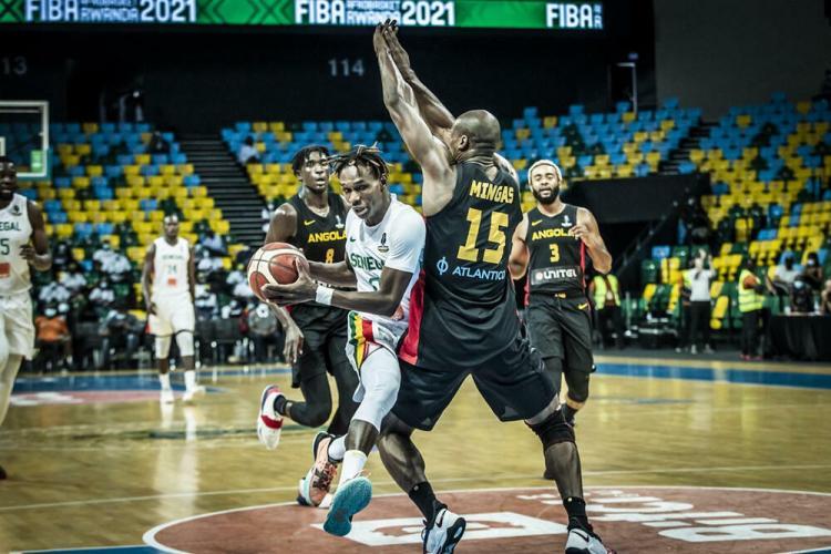 Angola fora do Afrobasket'2021