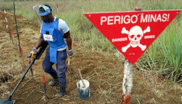Angola necessita de 200 milhões USD para acabar com as minas