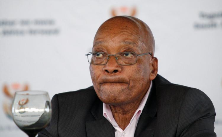 Zuma em liberdade condicional